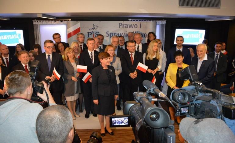 Beata Szydło w Krakowie