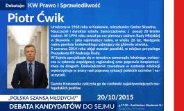 """Zaproszenie na debatę """"Polska szansą młodych"""""""