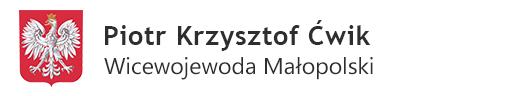 Piotr Ćwik Wicewojewoda Małopolski