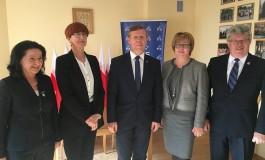 Minister Elżbieta Rafalska i Wicewojewoda Piotr Ćwik w Nowym Targu