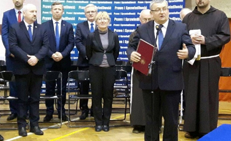 Spotkanie opłatkowe małopolskiego PiS