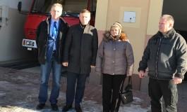 Wizyta w miejscowości Jurków