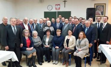 Spotkanie opłatkowe PiS w Skawinie