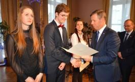 Wręczenie stypendiów Prezesa Rady Ministrów dla najlepszych uczniów