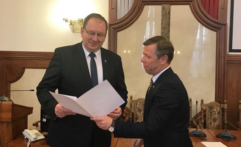 Spotkanie z samorządowcami z powiatu krakowskiego