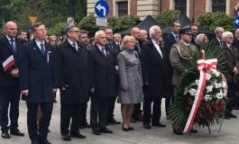 226 rocznica uchwalenia Konstytucji 3 Maja - uroczystości w Krakowie