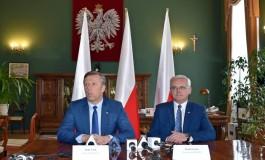 Pierwsza konferencja prasowa nowego Wojewody