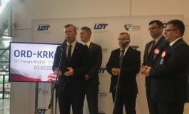 Przywrócenie połączenia lotniczego Kraków - Chicago