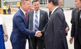 Przewodniczący Parlamentu Chin z wizytą w Małopolsce