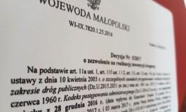 Jest zezwolenie na budowę kolejnego etapu obwodnicy Skawiny!