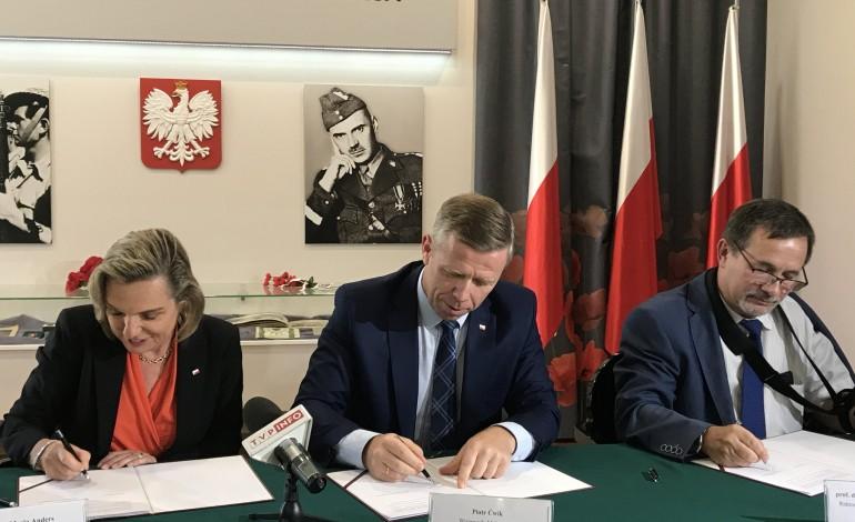 List intencyjny na rzecz powstania Muzeum gen. Władysława Andersa w Krakowie