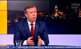 """Wojewoda Piotr Ćwik gościem """"Tematów Dnia"""" (video)"""