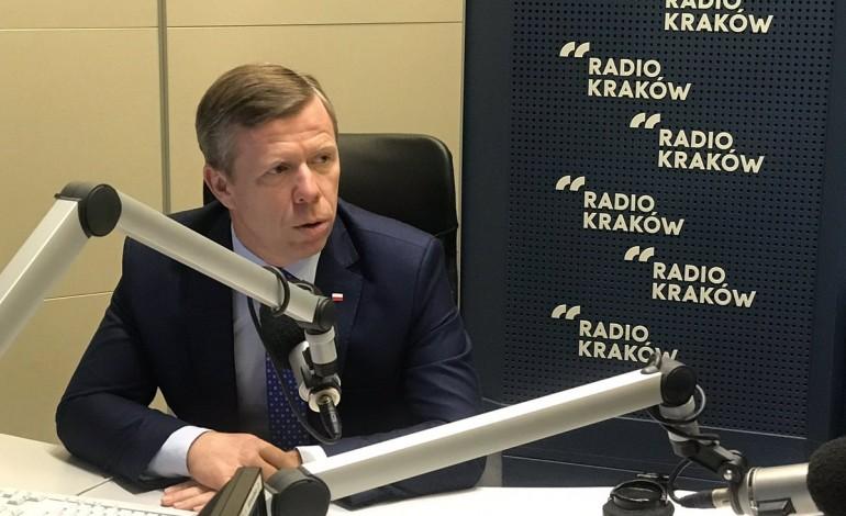 """Piotr Ćwik w Radiu Kraków: """" W Małopolsce nie ma zagrożenia jeśli chodzi o pomoc dla pacjentów"""""""