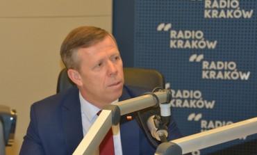 Poranna rozmowa wojewody małopolskiego Piotra Ćwika w Radiu Kraków