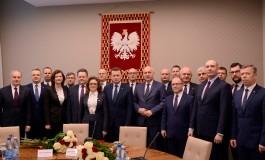 Spotkanie z nowym Ministrem Spraw Wewnętrznych i Administracji