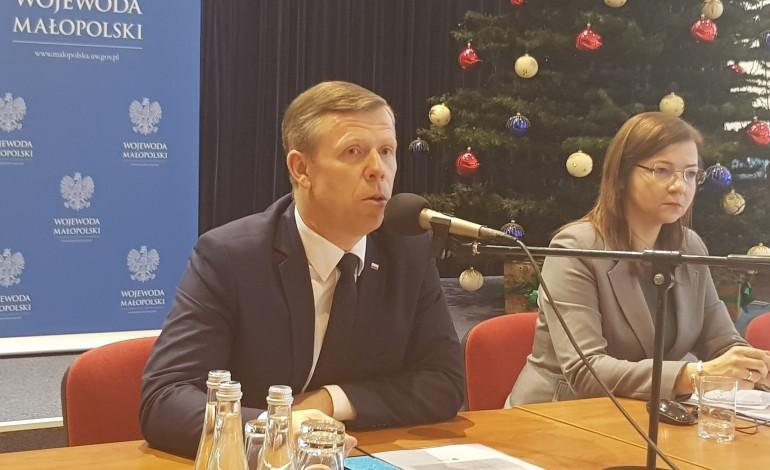 Spotkanie z samorządowcami z regionu tarnowskiego