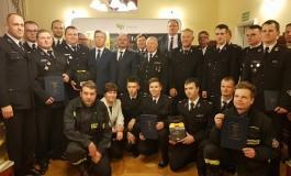 Ochotnicze Straże Pożarne z gminy Skawina otrzymały sprzęt ratowniczy