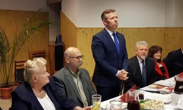 Spotkanie opłatkowe PiS w gminie Mogilany