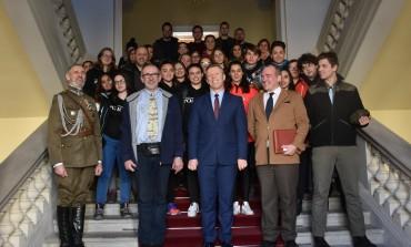 Młodzież z Hiszpanii śladami polskiej historii