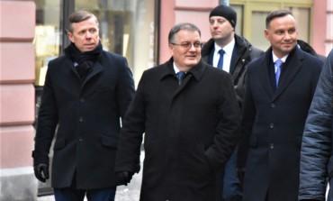 Wizyta Pary Prezydenckiej na Sądeczyźnie