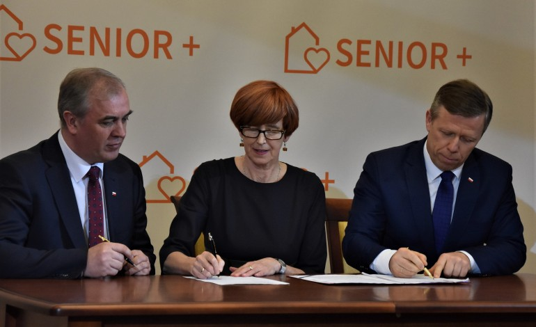 Umowy w programie Senior + podpisane