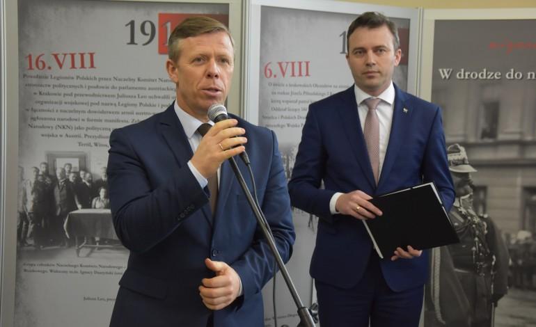 """Inauguracja wystawy edukacyjnej """"W drodze do niepodległości"""""""