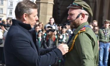 Uroczysty apel z okazji Święta ZHP Chorągwi Krakowskiej im. Tadeusza Kościuszki