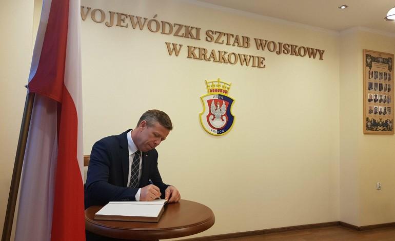 Wizyta w Wojewódzkim Sztabie Wojskowym