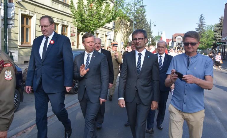Skawińskie obchody święta Konstytucji 3 maja
