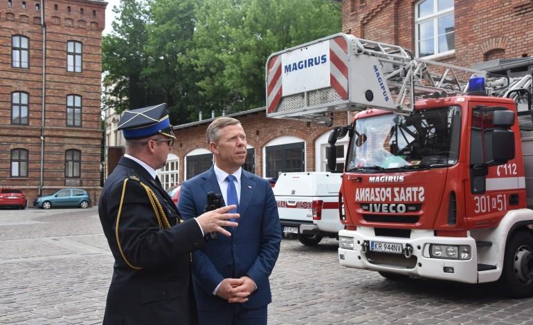 Komenda Miejska PSP w Krakowie już po remoncie