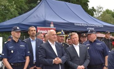 Minister Joachim Brudziński z wizytą w Małopolsce