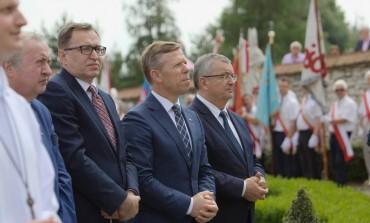 Uroczystość Dziękczynna w 100-lecie Niepodległości Polski w Morawicy