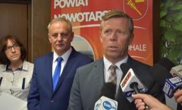 Spotkanie wojewody Piotra Ćwika z przedstawicielami samorządów, które ucierpiały wskutek ostatnich opadów