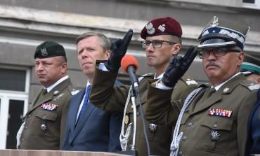Przekazanie obowiązków Dowódcy 6 Brygady Powietrznodesantowej
