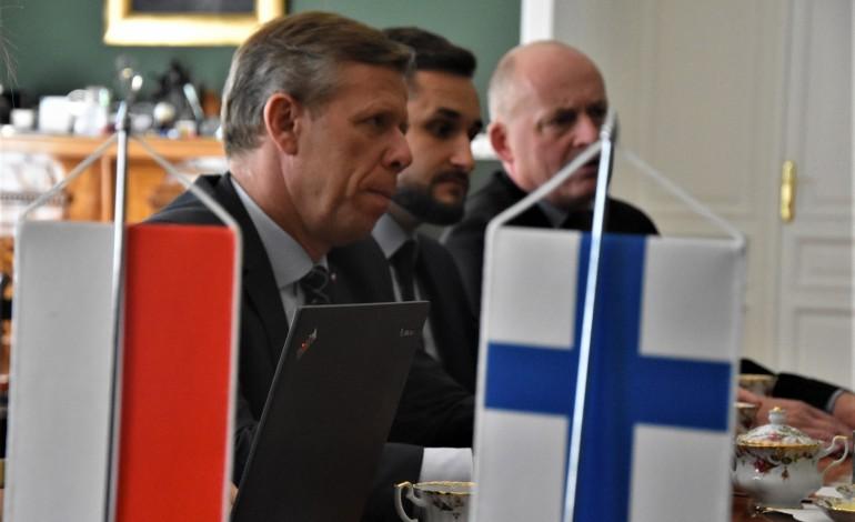 Spotkanie z Ambasador Finlandii w Małopolskim Urzędzie Wojewódzkim
