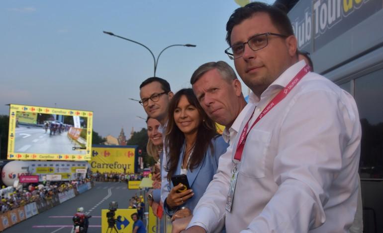 Premier Mateusz Morawiecki gościem podczas Tour de Pologne