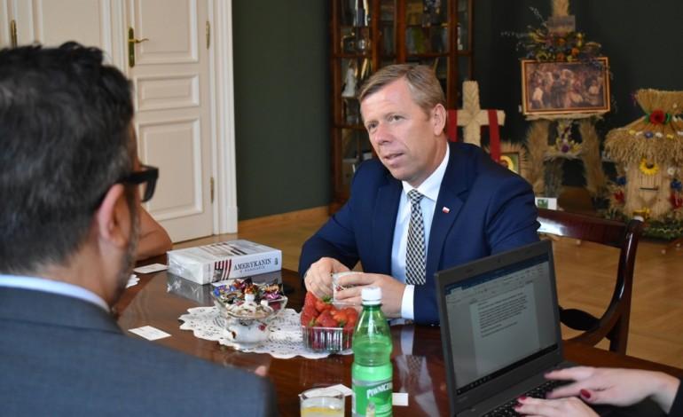 Wizyta konsula generalnego USA