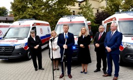Nowe karetki dla Małopolski