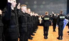 Uroczystość ślubowania w Małopolskiej Policji