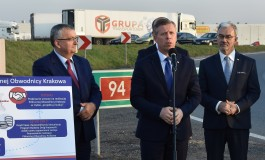 Rusza realizacja północnej obwodnicy Krakowa w ciągu S52