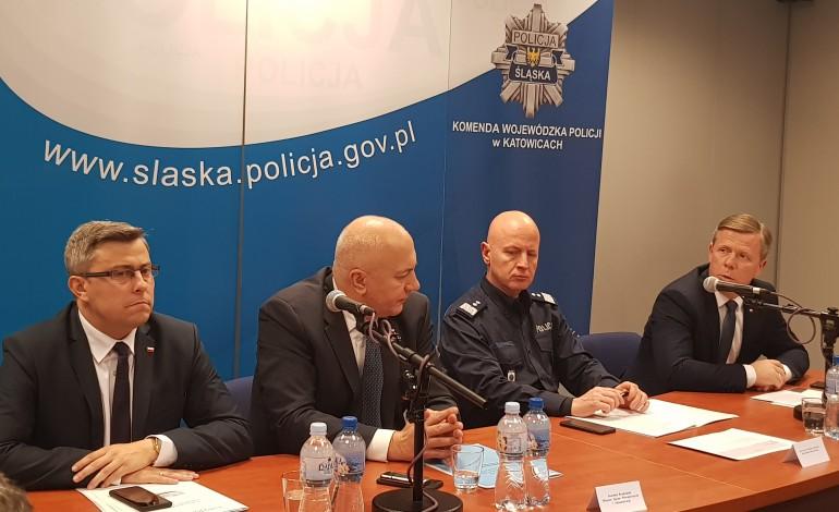 Odprawa z ministrem MSWiA w Katowicach