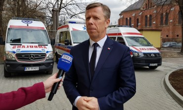Nowoczesny sprzęt dla Szpitala MSWiA w Krakowie