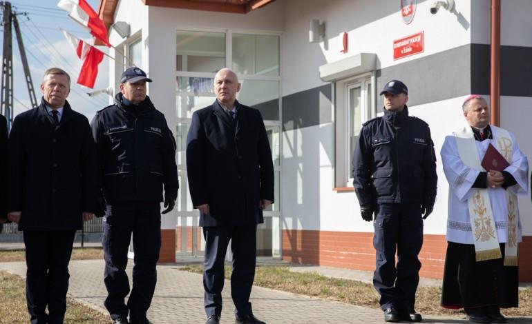 Wojewoda i Szef MSWiA spotkali się z Policjantami z Żabna