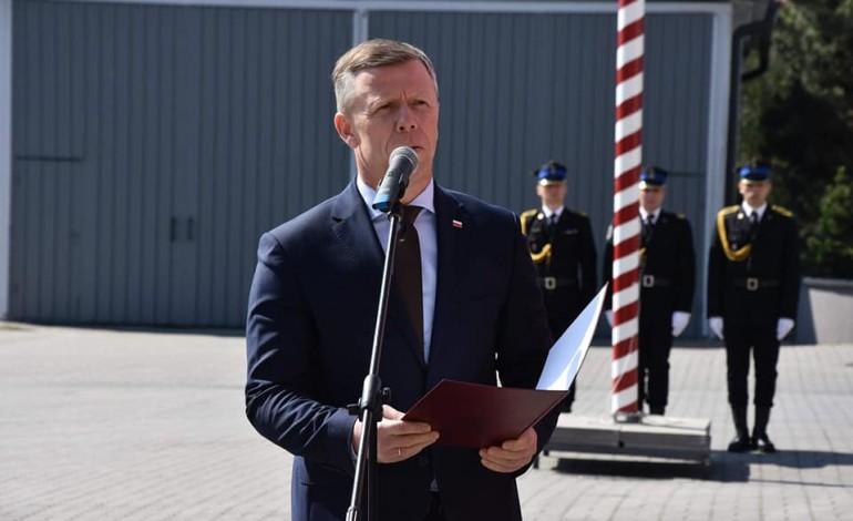 Nowy Komendant Małopolski Wojewódzki Państwowej Straży Pożarnej