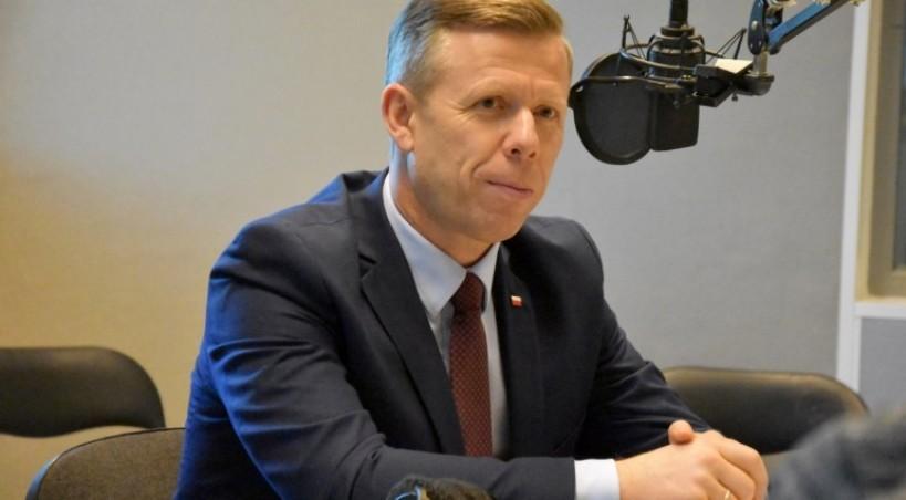 Piotr Ćwik w Tematach Dnia TVP3 Kraków - 8.10.2019r.